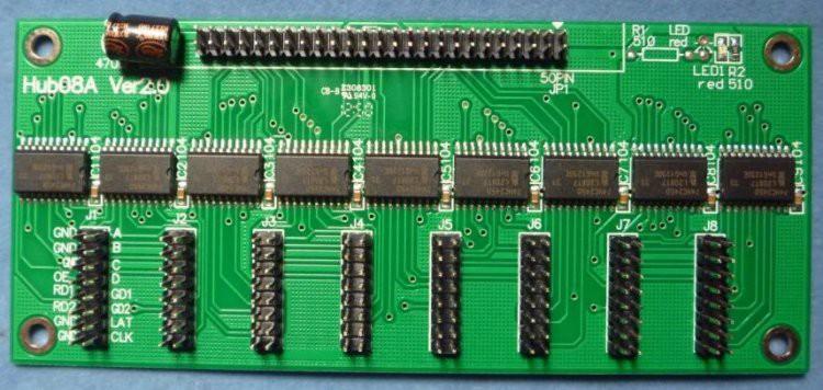 Linsn Hub08A LED Control Card