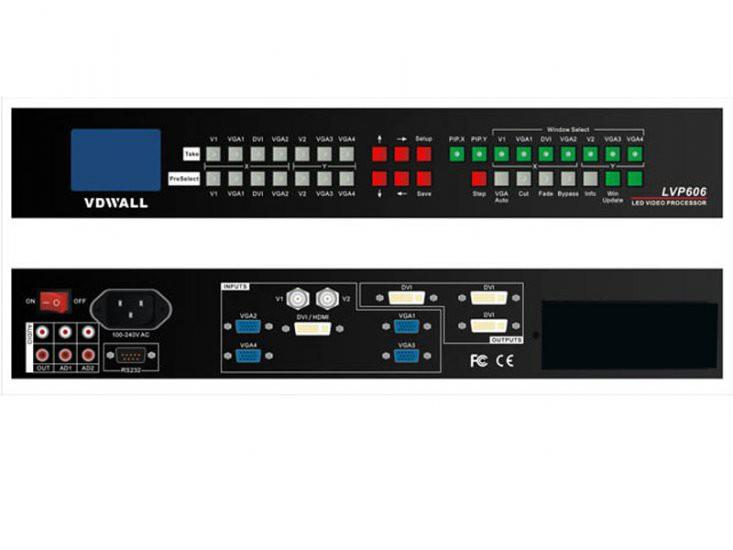 VDWALL LVP606 HD LED Video Processor DHL Free Shipping