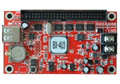 ONBON BX-4U3 Double-Color and single-color Async U disk LED CARD