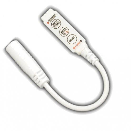 Mini RGB LED 3-KEY controller for LED Lighting