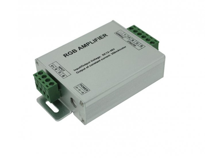 Constant current LED RGB amplifier for led light