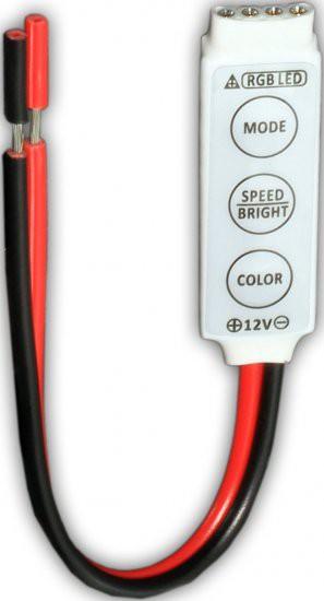Mini 3-Key RGB LED controller for LED Strip Light