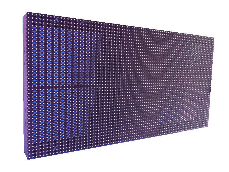 P12.5 indoor hollow led display case (800*400mm)