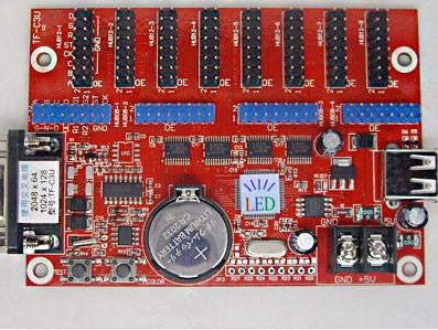 TF-C3U Multi-area U-disk LED Control Card