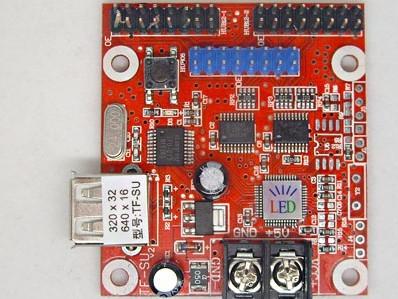 TF-SU Multi-area U-disk LED Control Card