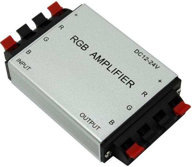 RGB LED Amplifier(Aluminum version)Controller