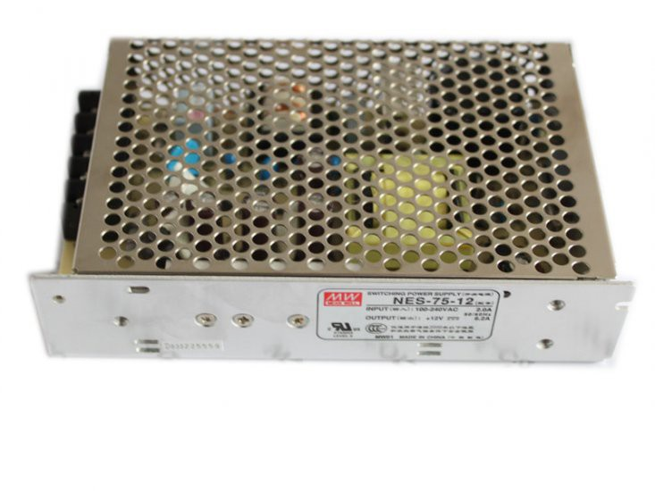 Meanwell 12V 6.2A 75W(NES-75-12)LED Power Supply