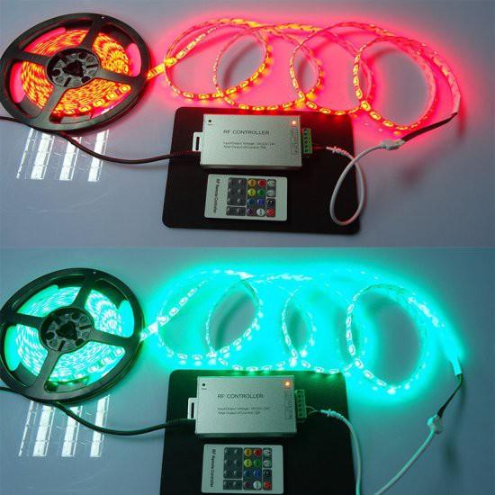 20 Key 12/24V RF Remote LED Controller for LED Strip Light