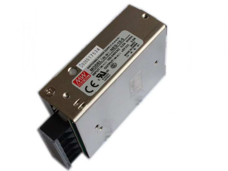 Meanwell 5V3A (NES-15-5) Switching Power Supply CE approved