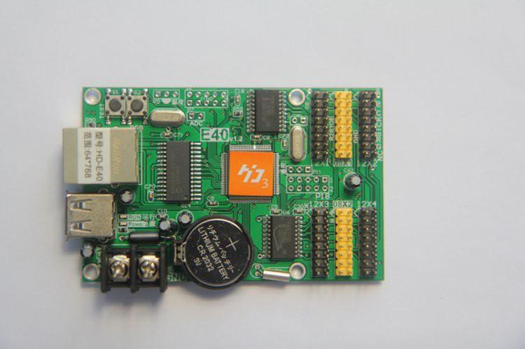 Huidu HD-E40 single color led card