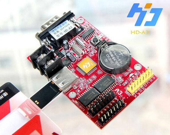 Huidu HD-A3 LED Control Card for single color led screen