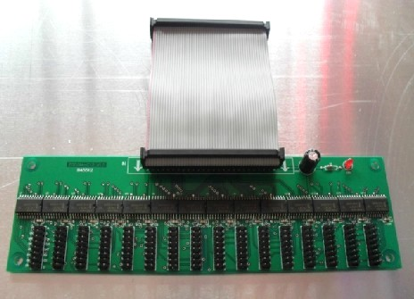 LED Display Hub12 LED Card with 50P data line with 16*hub12 port