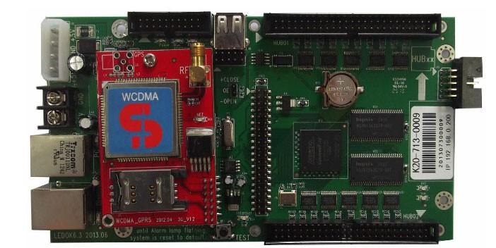 Xixun K20 cascade led display controller,async led sender