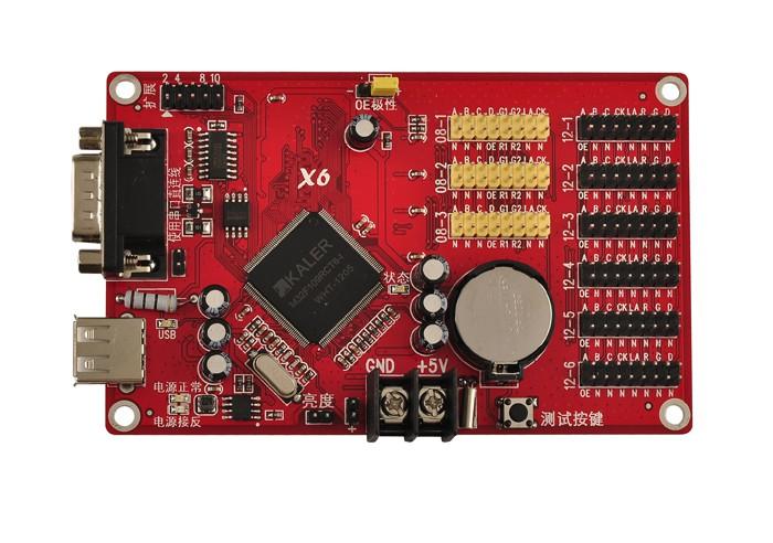 Kaler X6 LED Card for Single Color,Dual Color,Full Color LED