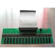 LED Display Hub12 LED Card with 50P data line with 16*hub12 port