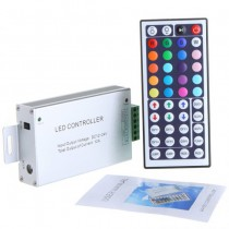 12V 44 Key IR Remote LED Controller for RGB LED Strip Light