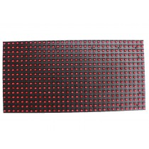 P10 outdoor single RED color LED module