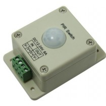 Human induction LED power switcher