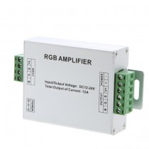 DC 12-24V 12A LED RGB Signal Amplifier for SMD LED Strip Light