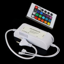 24 Key IR Remote LED Controller for RGB LED Strip Light