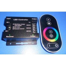 led rgb touch controller,DC12-24V input,max 6A*3 channel output