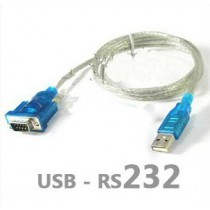USB to 9-pin serial cable USB-RS232 adapter LED Card Data Cable