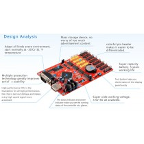 Kaler X8 LED Control Card for Single color LED Display